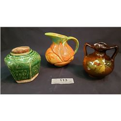 Lot Of 3 Small Jugs