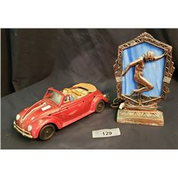 Vintage Volkswagon Toy With Light