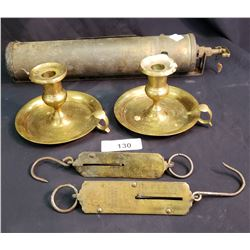5 Assorted Brass Pieces