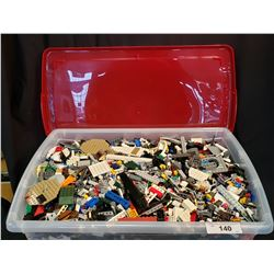 Large Bin Of Lego