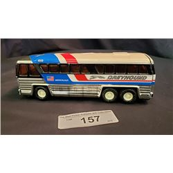 Tin Buddy L Grey Hound Bus