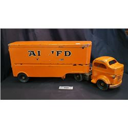 Lincoln Allied Van Lines, Truck And Trailer