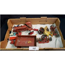Lot Of Misc Vintage Toys And Parts.