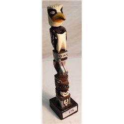 Vintage Hand Carved Native Totem Pole