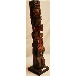 Vintage Native Totem Pole