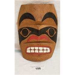 Carved West Coast Native Mask