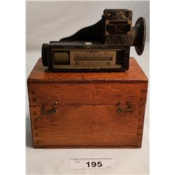 Vintage Marine Distance Meter