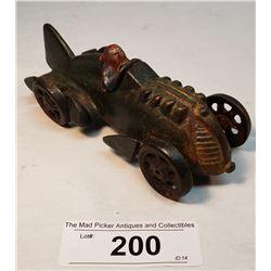 Antique Hubley Cast Iron Race Car
