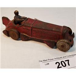 Antique Champion Cast Iron Race Car Made In Ohio