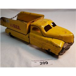 Vintage Shell Pressed Steel Toy Truck