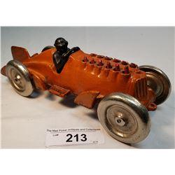 Wild Vintage Hubley Cast Iron Race Car