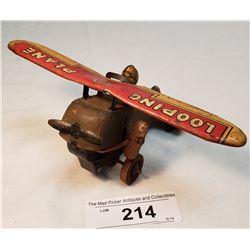 Vintage Marx Airplane Tin Toy