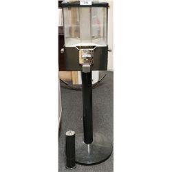 Rotating Gumball Machine On Pedestal