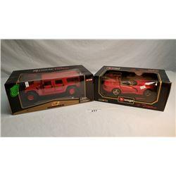 2 Die Cast Toys