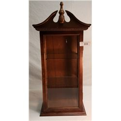 Mahogany Display Case