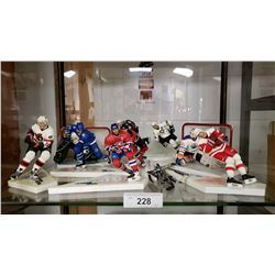 17 Nhl Hockey Player Figurines