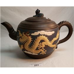 Large Dragon Tea Pot