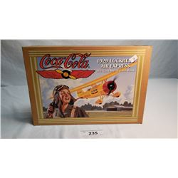 Coca Cola Die Cast Air Plane