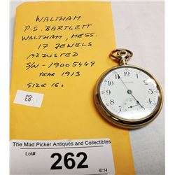 1913 Waltham Pocket Watch