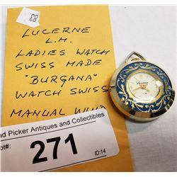 Vintage Lucerne Ladies Watch