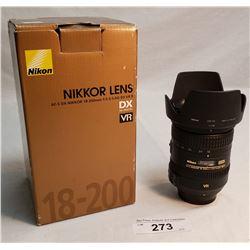 Nikkon Lens,