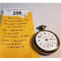 Vintage R.W. Co. Pocket Watch