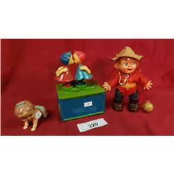 3 Pieces Vintage Toys