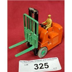 Vintage Dinky Forklift Die Cast Toy