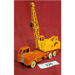 Vintage Dinky Lorry Mounted Crane Die Cast Toy