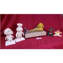 6 Pieces Collectible Toys