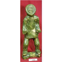 Large Jade Eskimo Figure