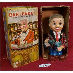 Vintage Bartender Toy In Box