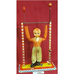 """Vintage """"Jimmy"""" Acrobat Tin Toy"""