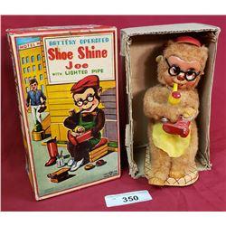 Vintage Shoe Shine Joe Monkey Toe