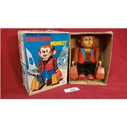 Vintage Travelling Monkey Toy