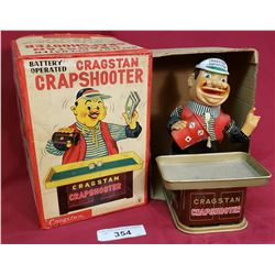Vintage Cragstan Crapshooter Toy