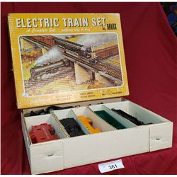 Vintage Electric Train Set By Marx