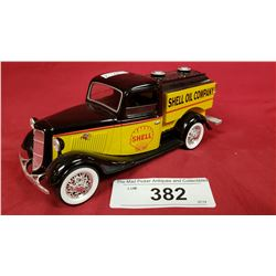 1935 Ford Truck, Shell Oil, Die Cast Bank