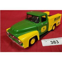 1956 Ford John Deere Die Cast Bank W/Key