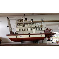 Large Impressive Paddle Wheel Steamboat