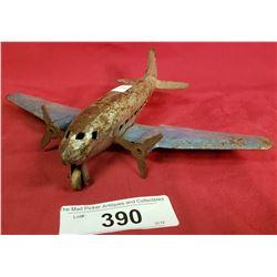 Vintage Twin Prop Airplane