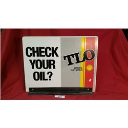Shell Check Your Oil Flange