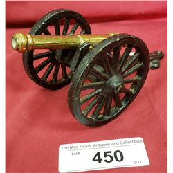 Cast Bronze Cannon