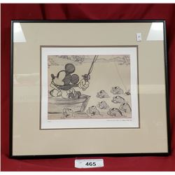 Disney- Mickey Mouse Print- Fishing Around
