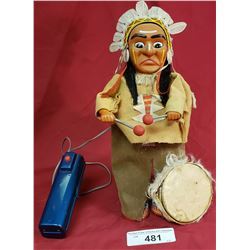 Battery Operated Indian Drummer