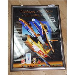 Abbotsford Airshow Picture, Framed