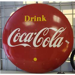 Large Coca Cola Button