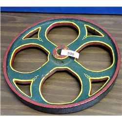 Cast Iron Vintage Wheel
