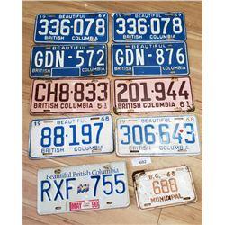 Stack Of Vintage Plates