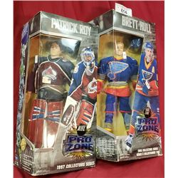 Brett Hall And Patrick Roy Boxed Toys